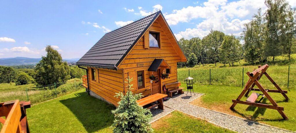 Domki w górach do wynajęcia. 5 min od centrum Szczyrku.