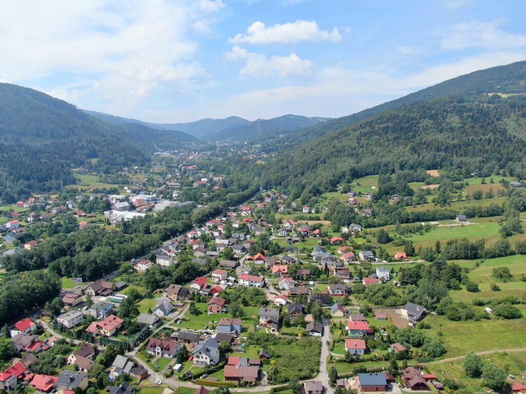 Szczyrk widok od strony Buczkowic